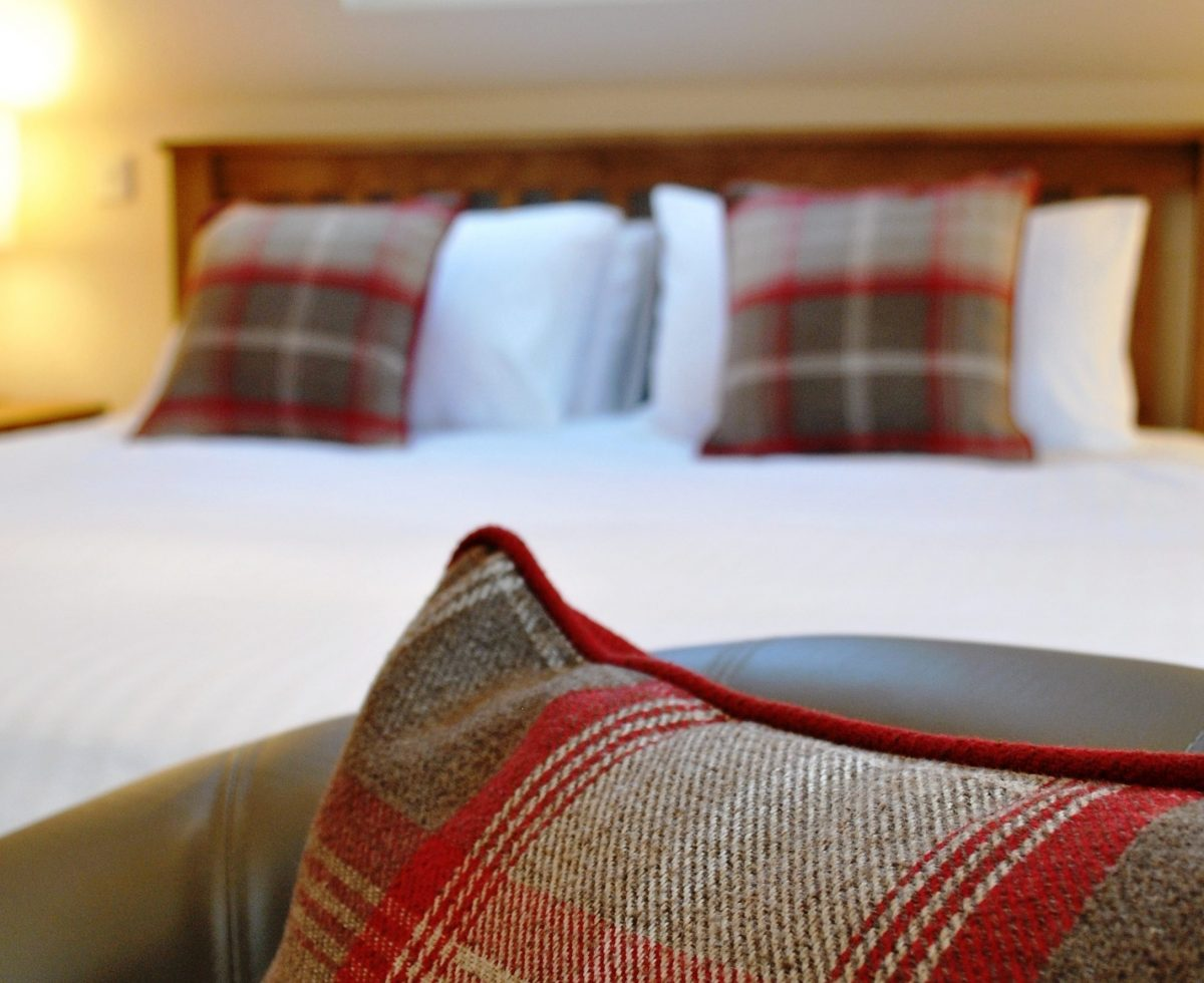 tartan, bed and breakfast accommodation, Portree, Isle of Skye