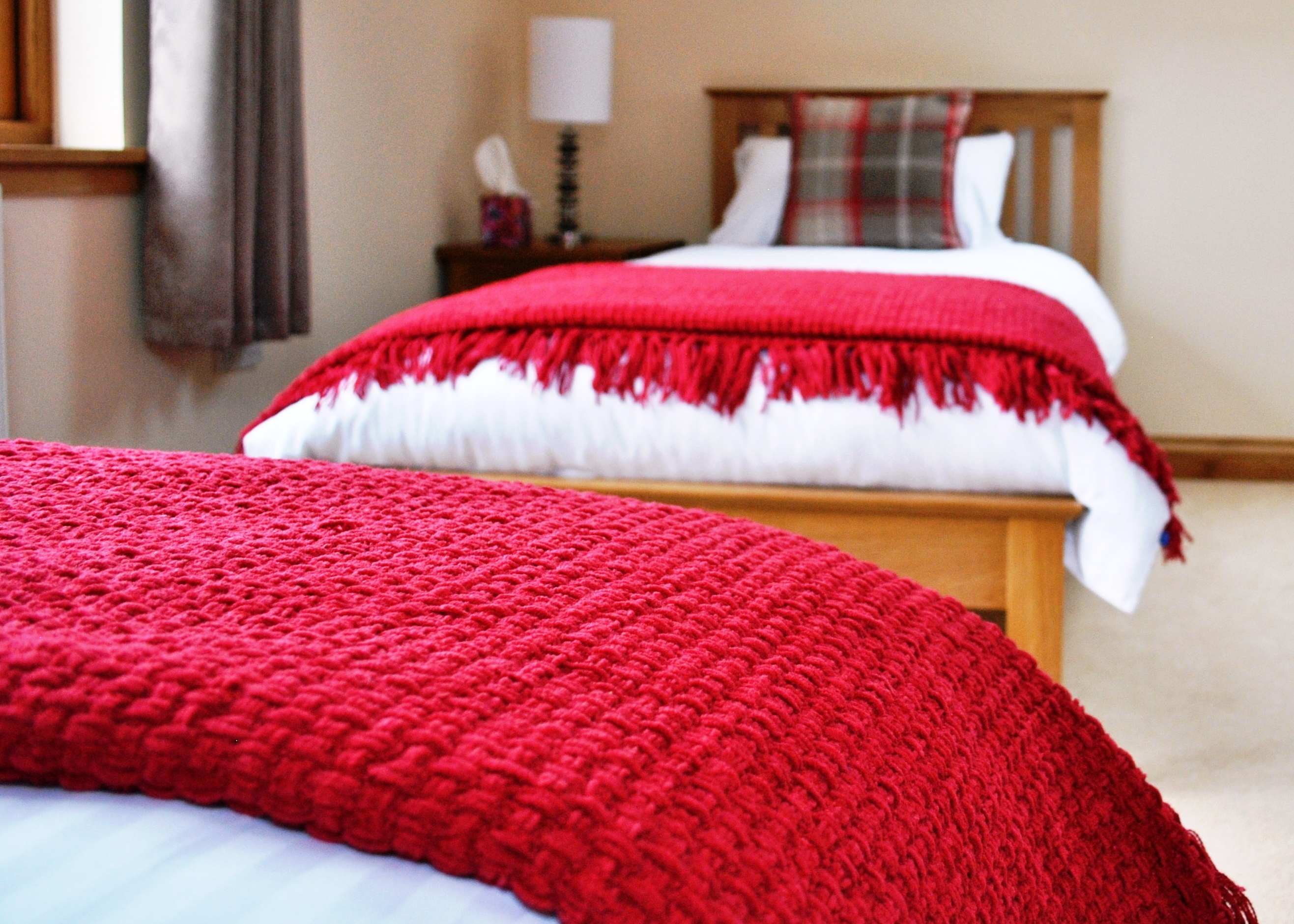 twin beds, bed and breakfast accommodation, Portree, Isle of Skye
