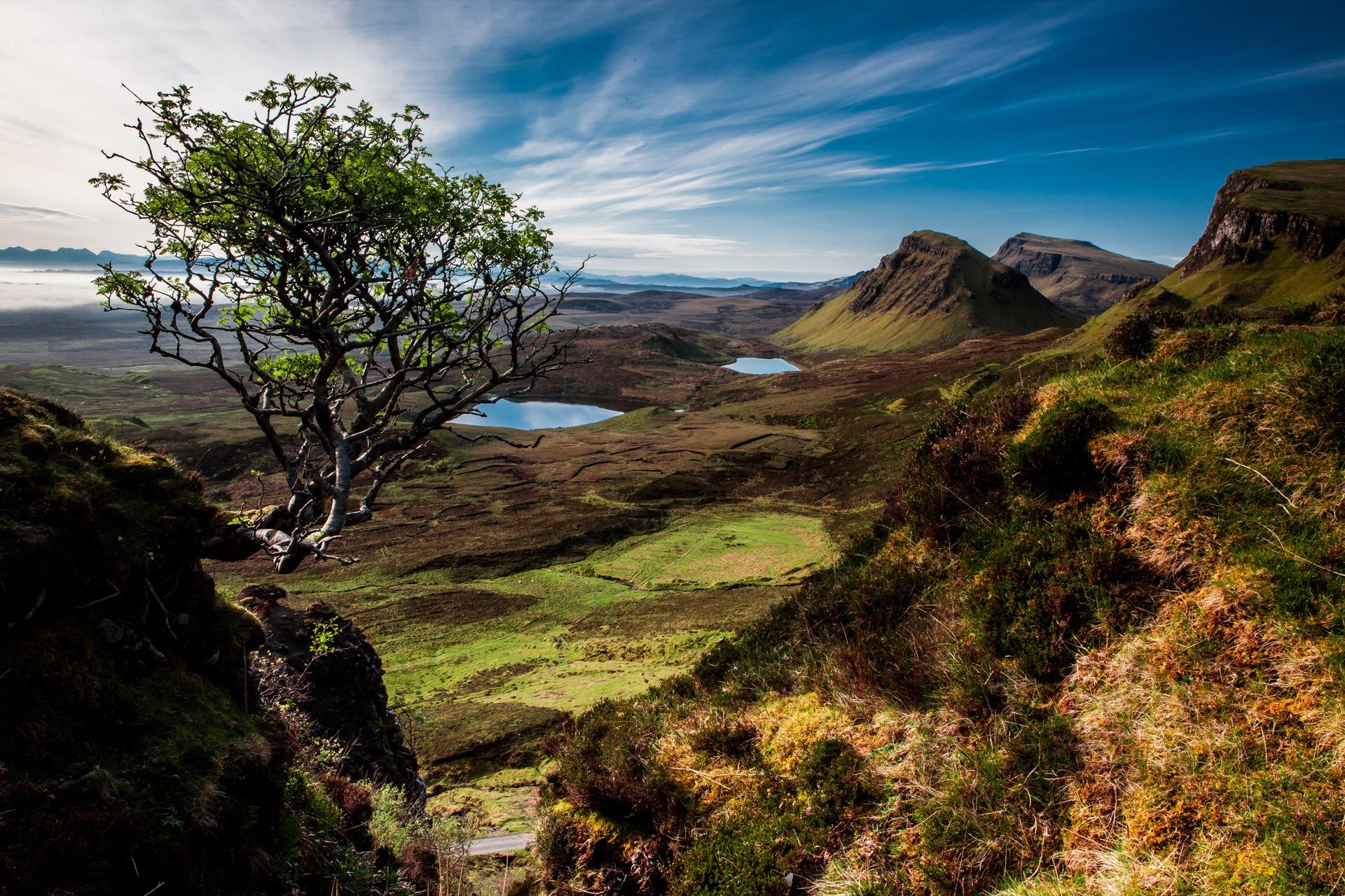 landscape, Quiraing, Isle of Skye