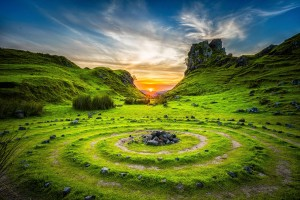 landscape, Fairy Glen, Isle of Skye